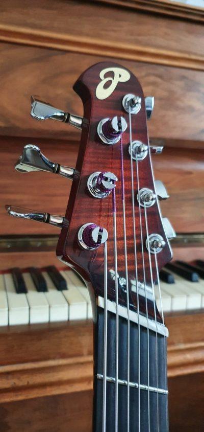 guitare hybride Basse - luthier OP Guitares
